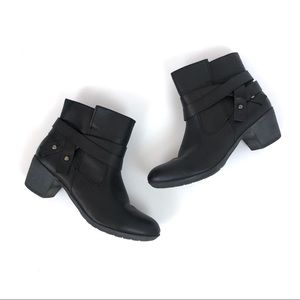 [Style & Co] Joeyy Black Ankle Boots
